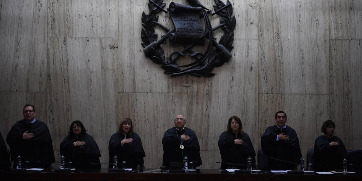 Solicitud de antejuicio contra magistrados de CC será conocida en enero