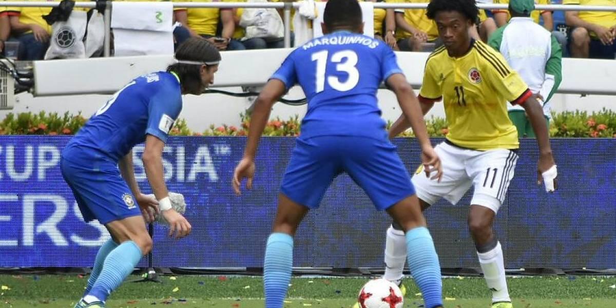 Vea los goles del partido de Colombia ante Brasil por eliminatorias