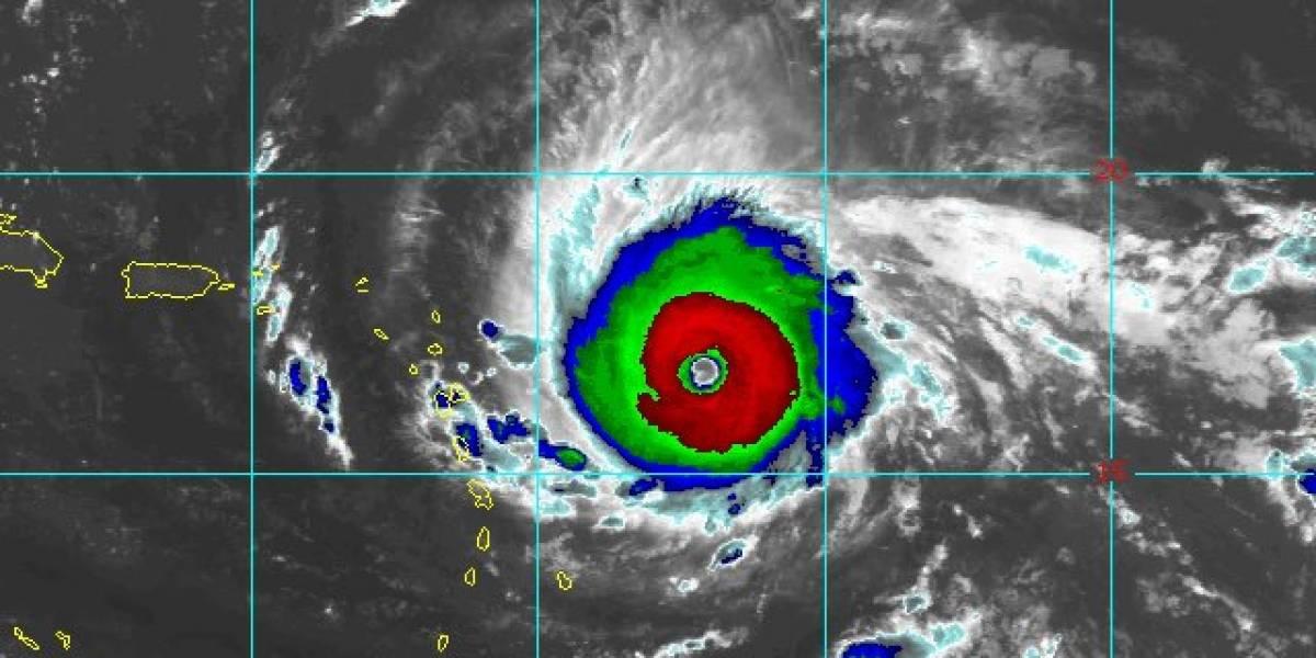 Vientos de Irma aumentan a 150 millas por hora