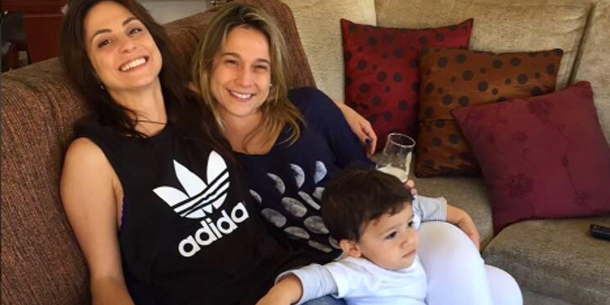 'Minha paz', diz namorada no aniversário de Fernanda Gentil