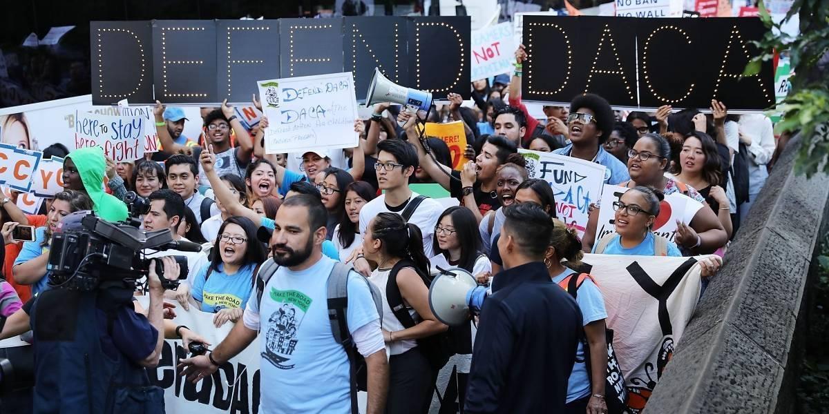 Trump deja a 800 mil jóvenes inmigrantes en la incertidumbre