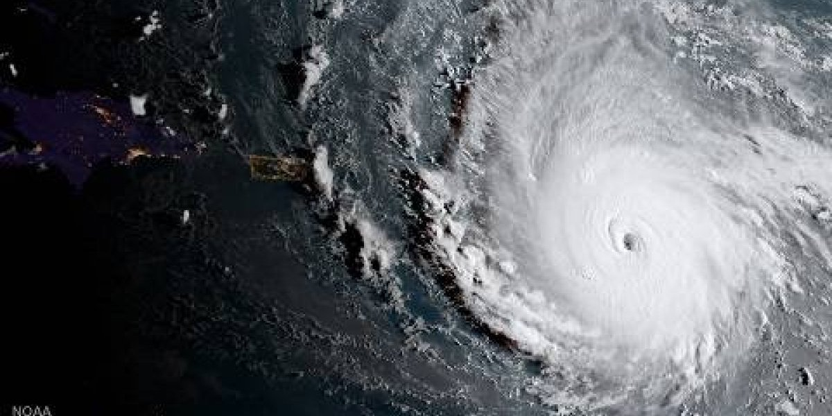 Huracán Irma pone a temblar -literalmente- a la isla de Guadalupe