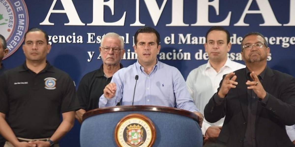 Gobernador pide a Trump declarar a Puerto Rico en estado de emergencia