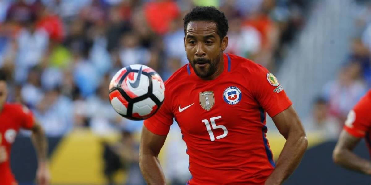 Jean Beausejour no jugará ante Ecuador en Chile