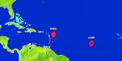 Huracán José amenaza las Antillas con categoría 4