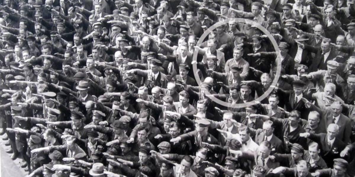 El único que no saludó: el hombre que desafió a Hitler en medio del fanatismo nazi