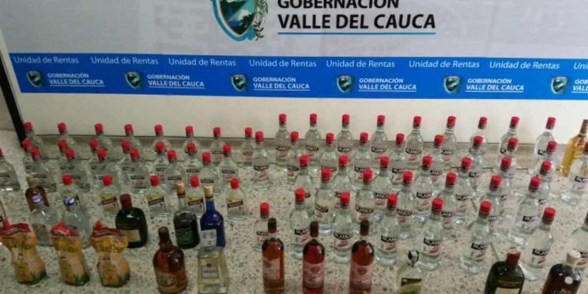 Continúan incautaciones de licor adulterado en el Valle del Cauca