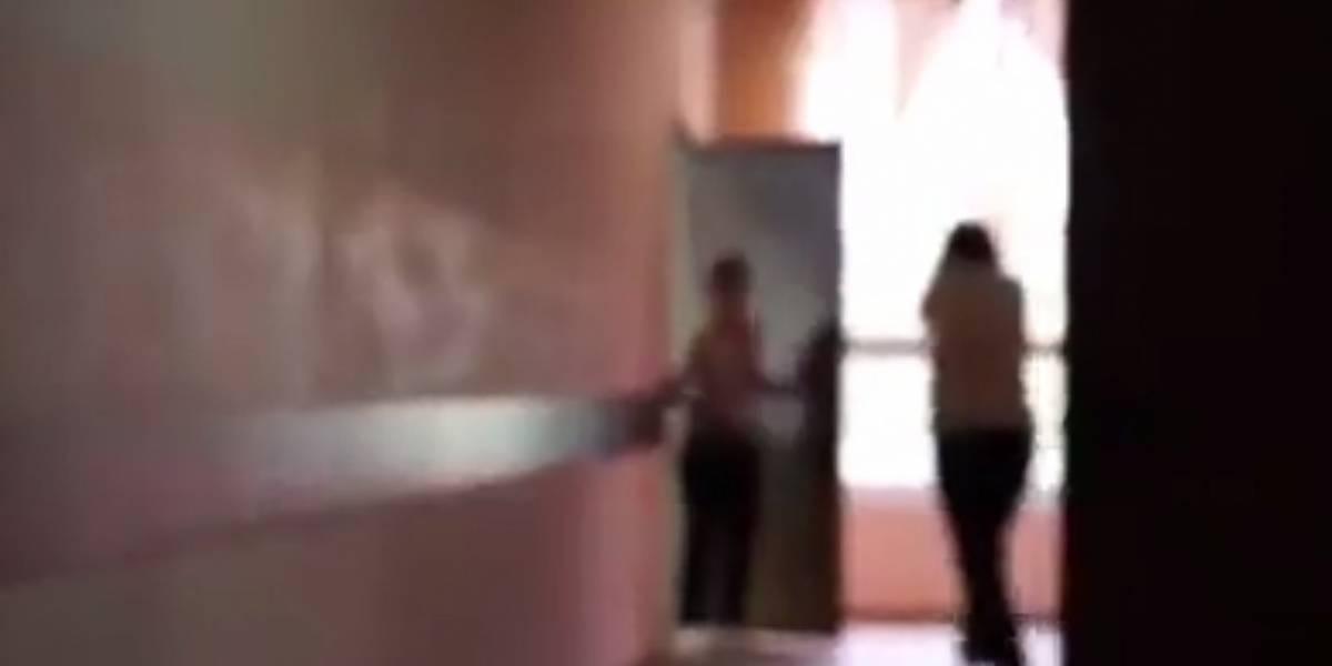 VIDEO. Momento exacto del tiroteo en una escuela de Moscú