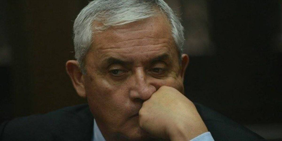Defensa de Pérez Molina solicita que CICIG quede fuera del caso La Línea