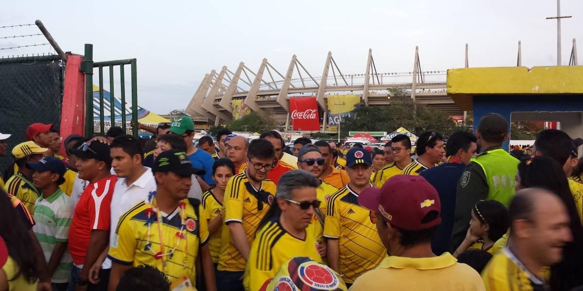 Declaran tarde cívica por el partido Colombia Vs Brasil en Barranquilla