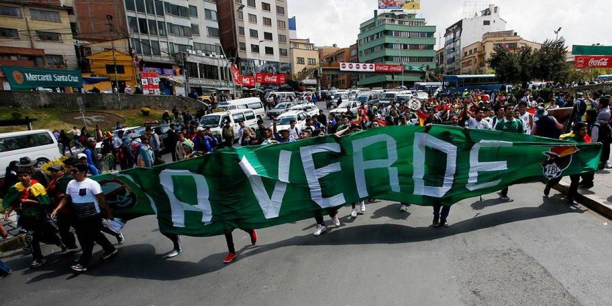 Las estruendosas pifias que sufrió el himno de Chile en Bolivia