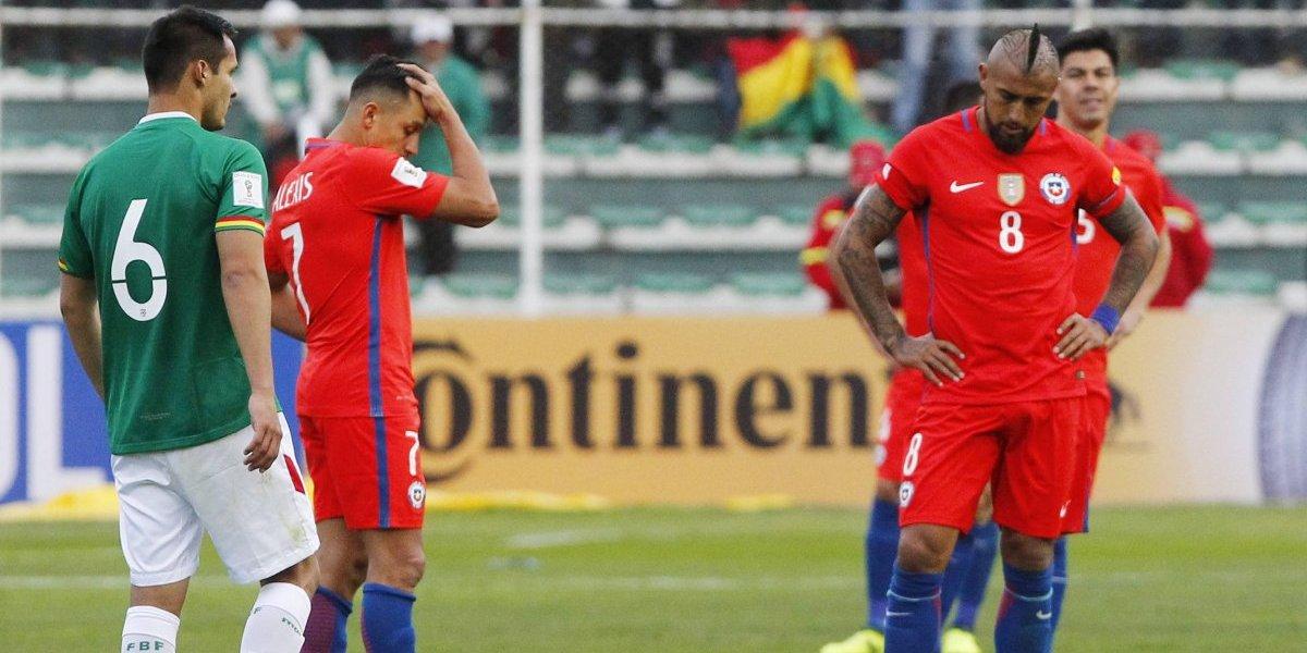 Chile jugó pésimo ante Bolivia, perdió y depende de otros resultados para ir al Mundial