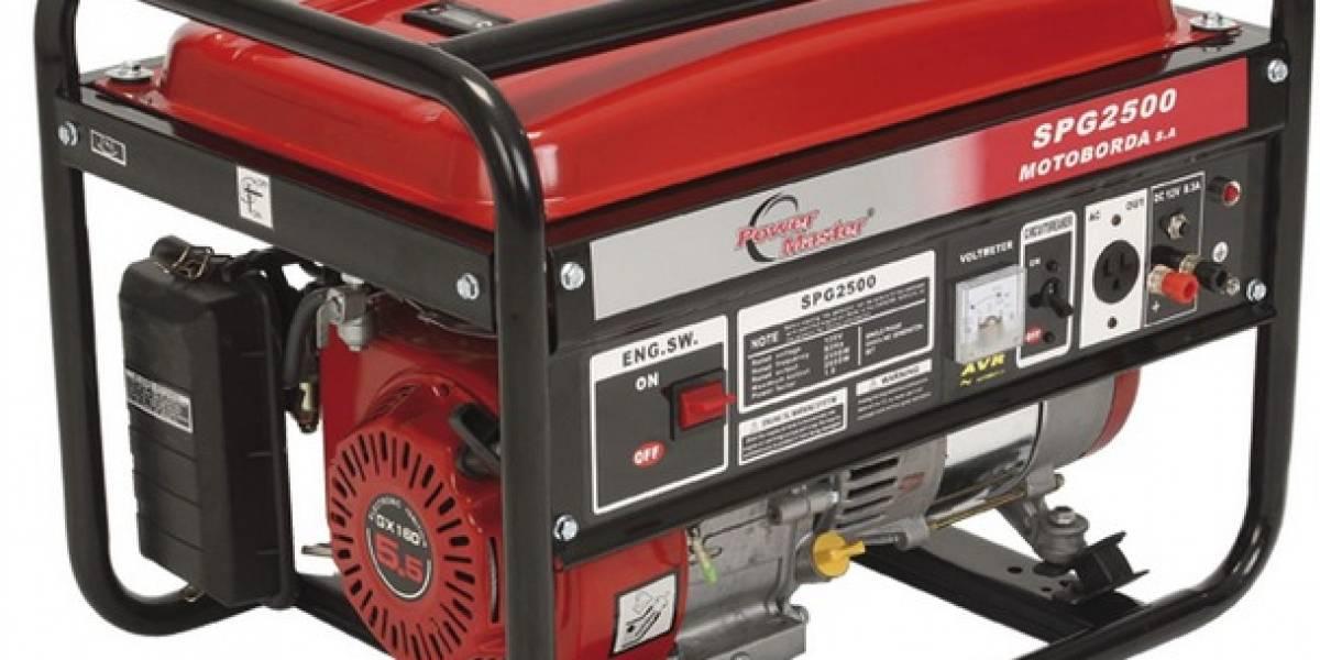 Emiten resolución para dejar por la libre uso de generadores eléctricos