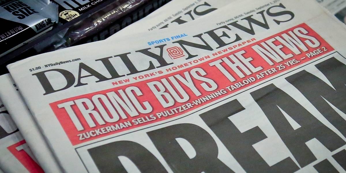 Tronc compra tabloide Daily News de Nueva York
