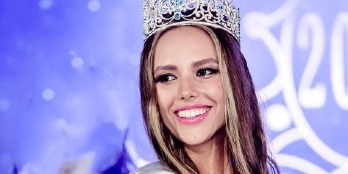Miss Ucrania 2017 se pasea por Puerto Rico