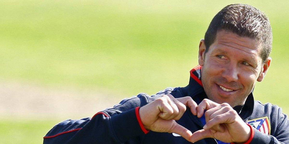 Parece que el amor entre el Atlético y Simeone no tendrá fin