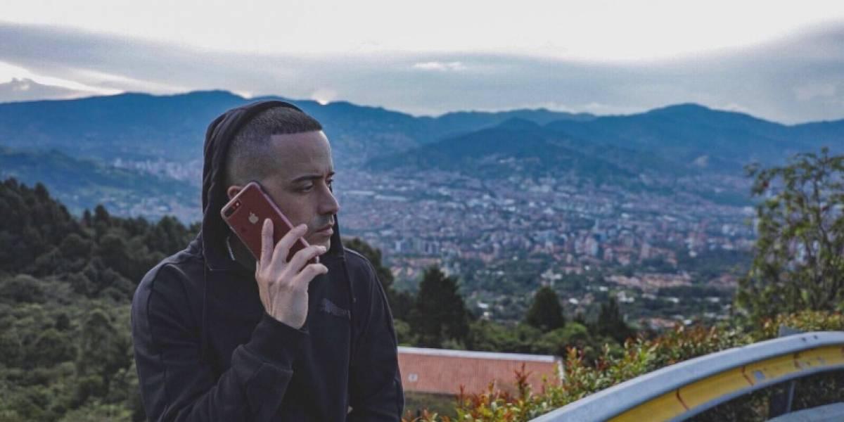 El cantante Yandel está en Medellín, pero su felicidad esta mañana se vio afectada