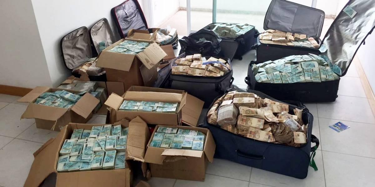 La policía se demoró más de 14 horas en contar la gran cifra de dinero que escondía ex ministro de Temer