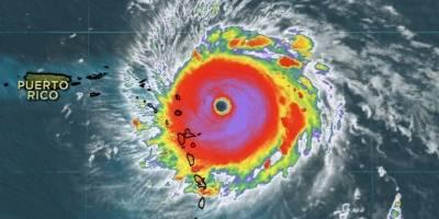 Foto y video: el huracán Irma azota República Dominicana