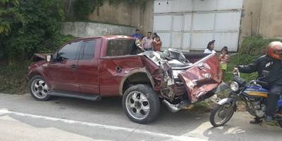 Accidente vial en ruta interamericana