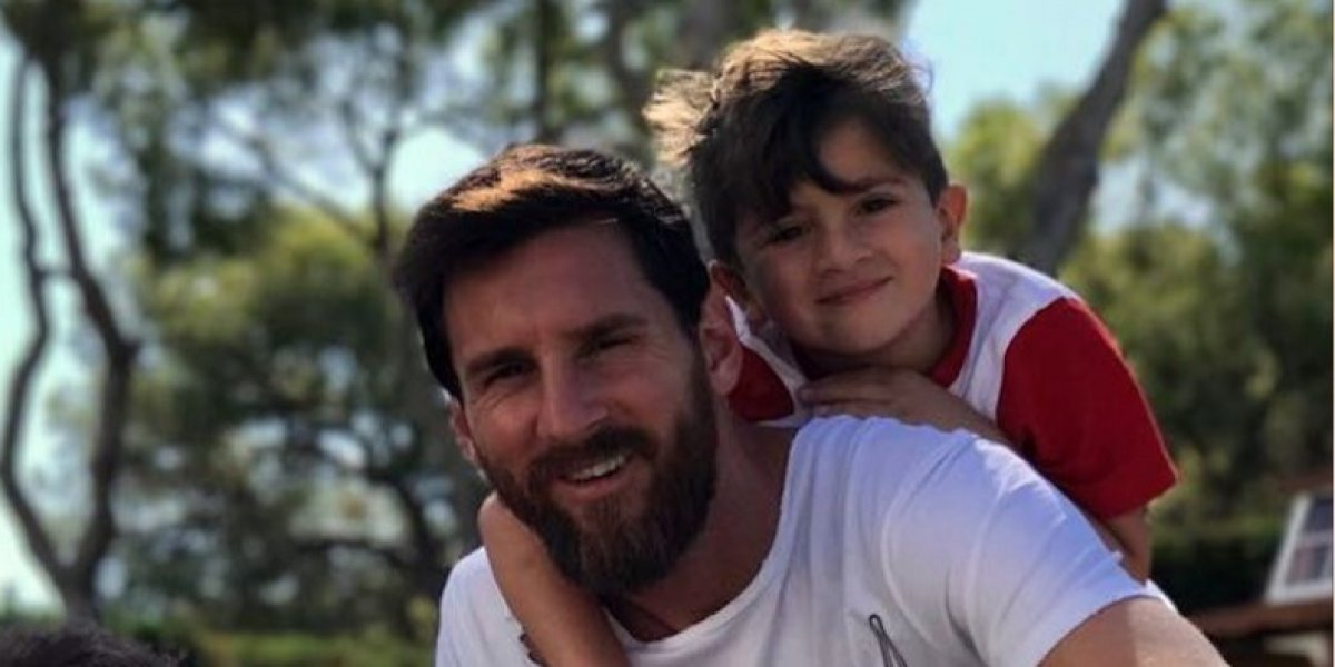 VIDEO. Antonela Roccuzzo le dio una bienvenida a Messi que cura cualquier dolor