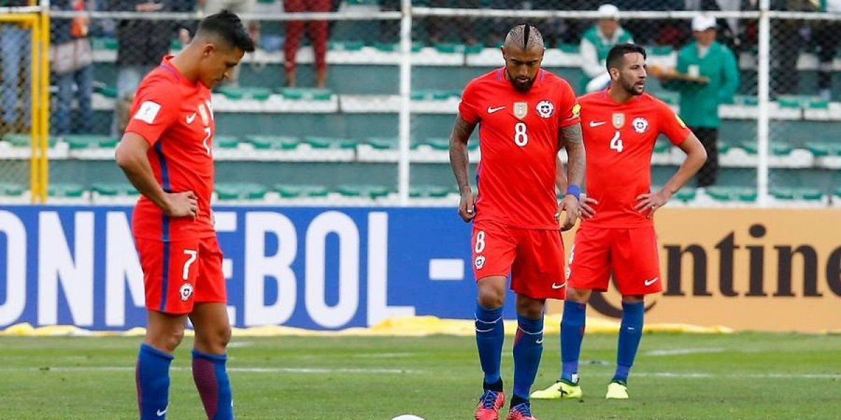 El fallo del TAS puede terminar pasándole la cuenta a Chile en las Clasificatorias