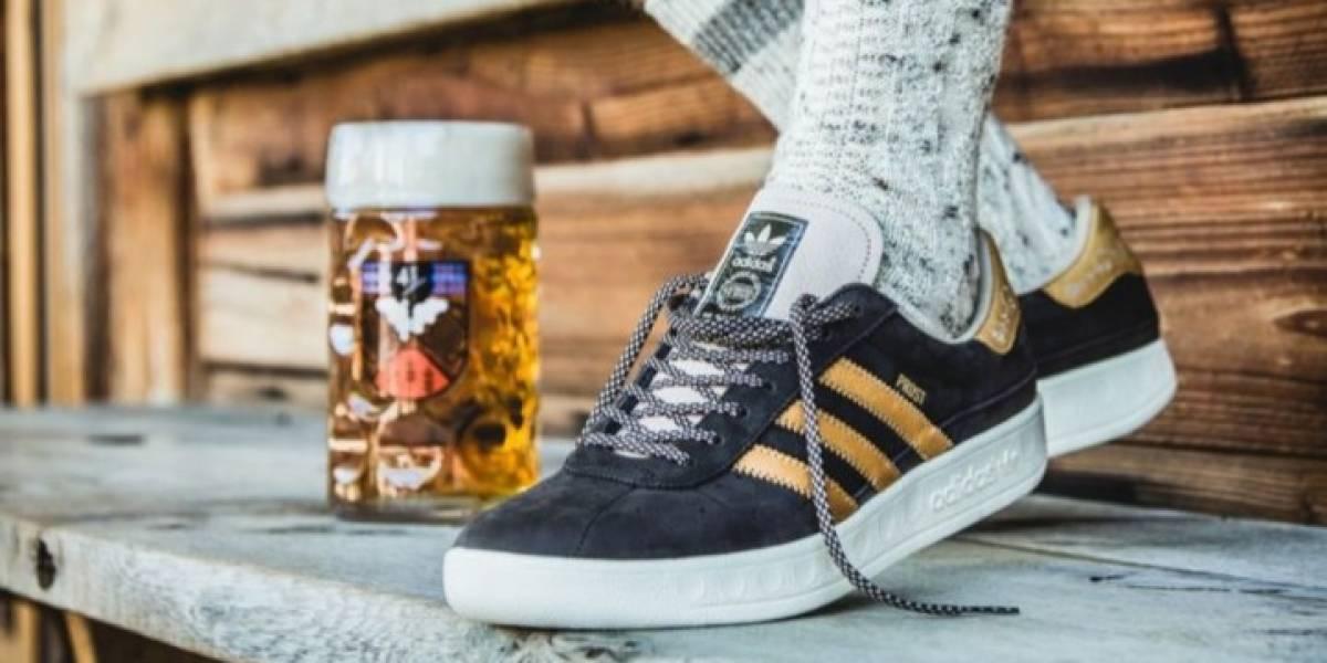 Crean las zapatillas ideales para carretear: resisten cerveza y vomito
