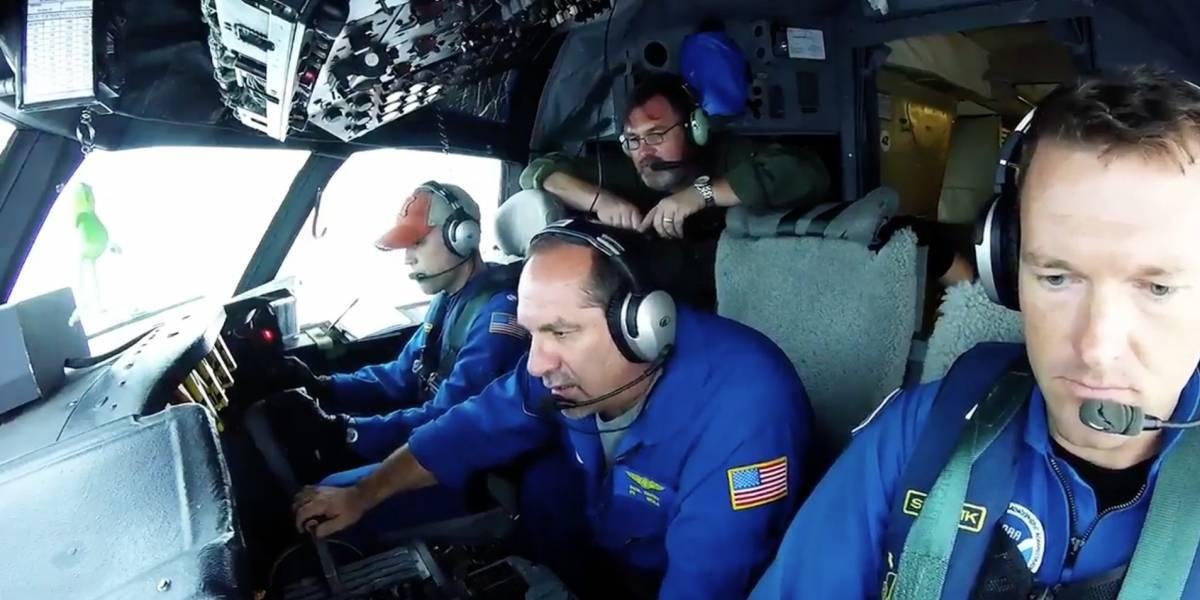 """En una impactante hazaña el equipo """"caza tormentas"""" del NOAA ingresó al ojo del peligroso huracán Irma"""