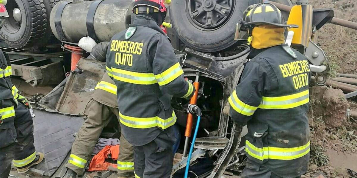 Un fallecido en accidente de tránsito en la vía Papallacta-Pifo