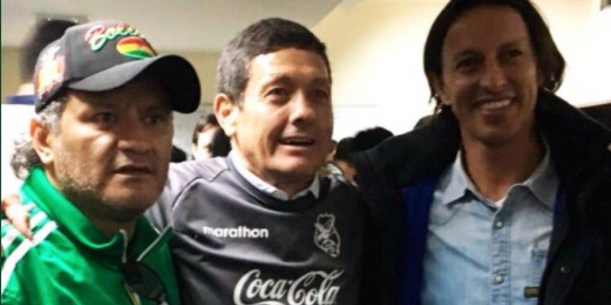 """El Diablo Etcheverry no se olvida de Colo Colo: """"Siempre lo sigo y hablo con mis ex compañeros"""""""