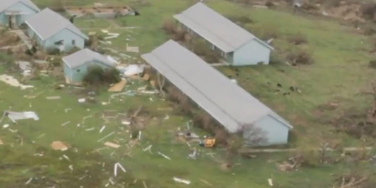 9 muertos en San Martín y Barbuda por paso de Irma