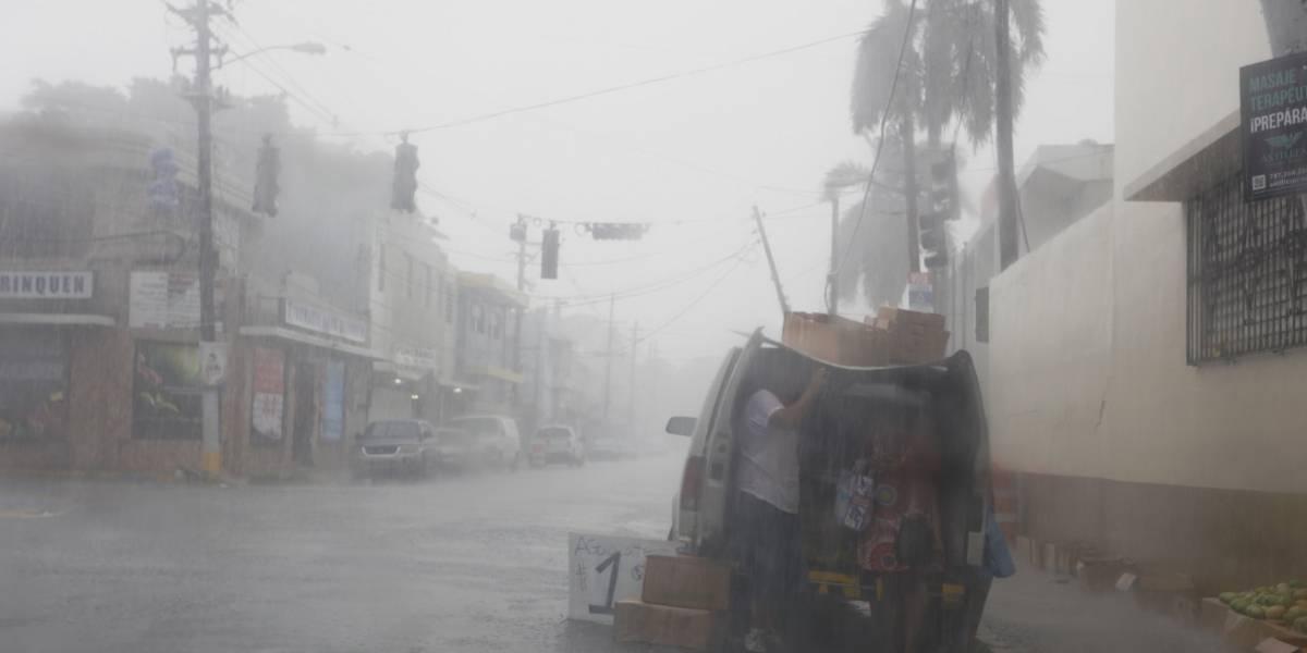 Irma ya deja su primera víctima en Puerto Rico