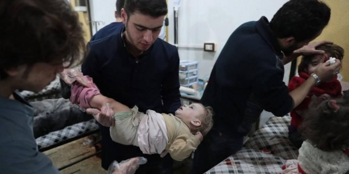 ONU culpa al régimen sirio del inhumano ataque con gas sarín que dejó más de 80 muertos y 290 heridos