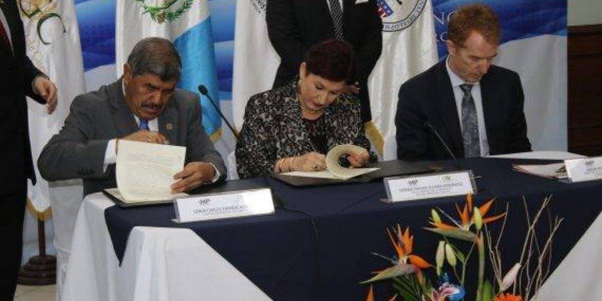 MP inaugura agencia fiscal contra la corrupción en sede de la Contraloría