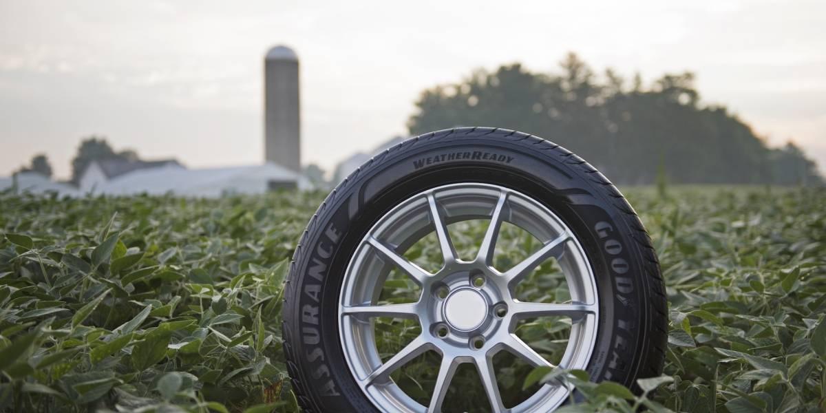 Aceite de soya, el nuevo compuesto de los neumáticos de Goodyear
