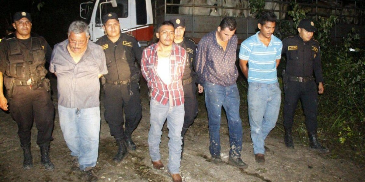 Amarran a guardia de finca y a su familia para robar 42 reses