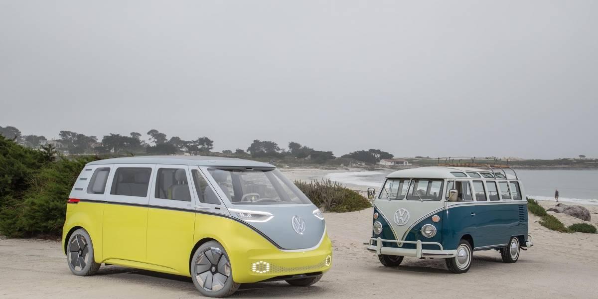 Volkswagen reedita el icónico Microbús y lo hace eléctrico