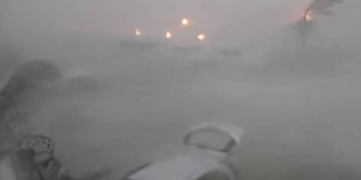 VIDEO. Así fue el devastador paso del huracán Irma por la isla San Martín