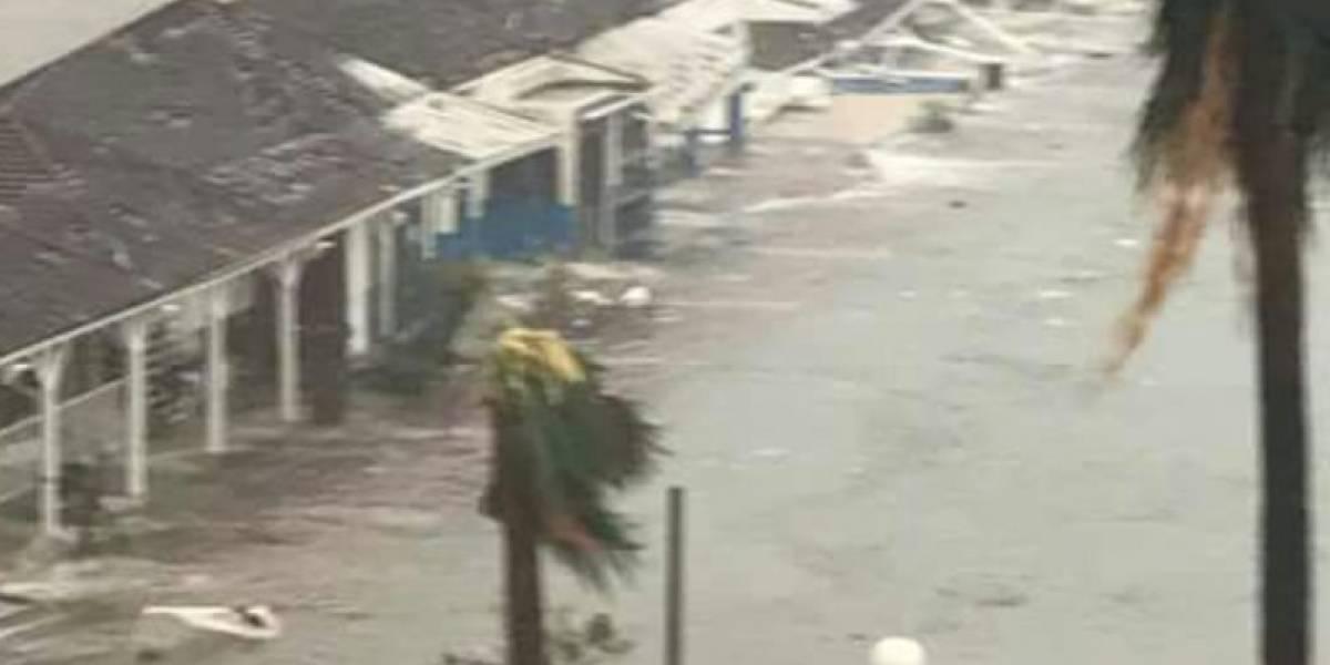 95% de los edificios en Barbuda son destruidos por el huracán 'Irma'