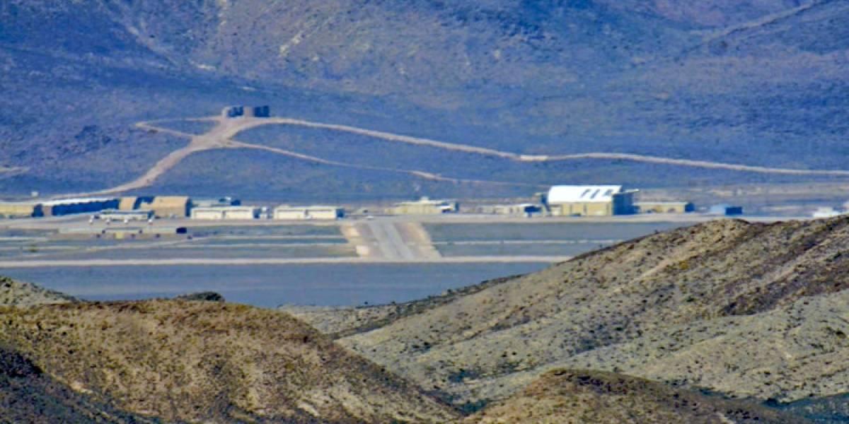 VIDEO. Graban imágenes inéditas de la misteriosa Área 51