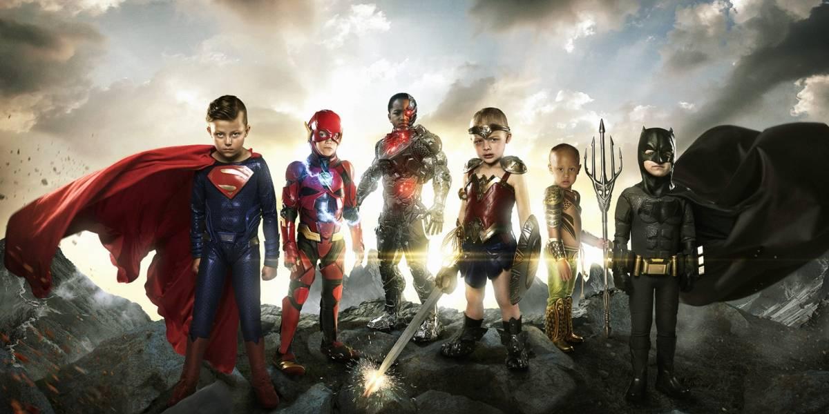 Niños combaten enfermedades como verdaderos superhéroes