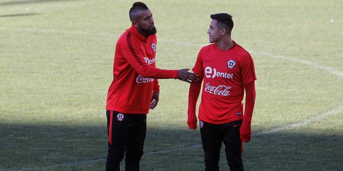 """La Roja se cuadra con Alexis y Vidal: """"Hay que respetarlos y cuidarlos, siempre son un plus"""""""