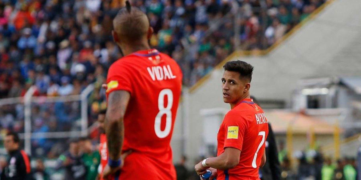 Arturo Vidal anunció su retiro de la selección