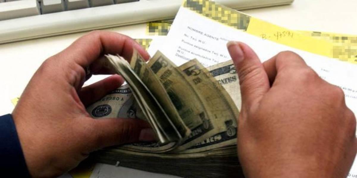 Envío de remesas a Guatemala crece 7.45% en primer cuatrimestre de 2018