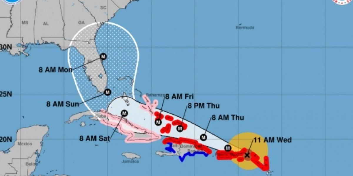Gobernador de Florida pide prepararse para 'Irma'