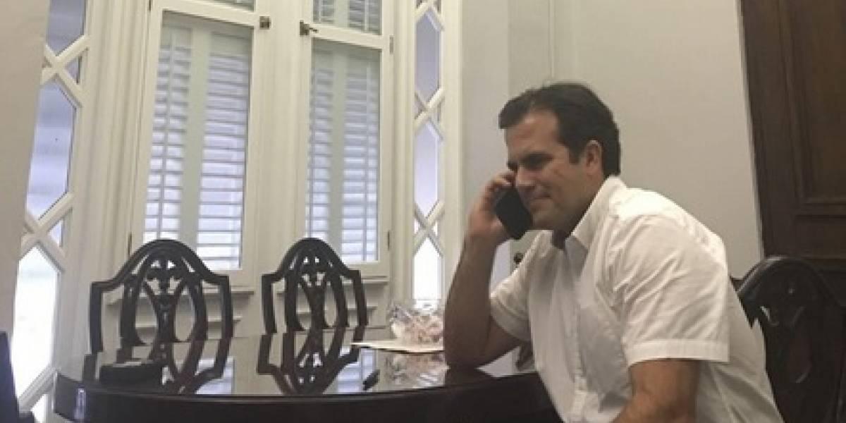 Donald Trump habla con el Gobernador sobre el huracán Irma