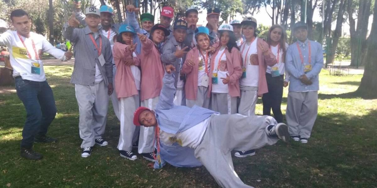 El grupo Rap Melodía del Idipron espera darle la bienvenida a Francisco