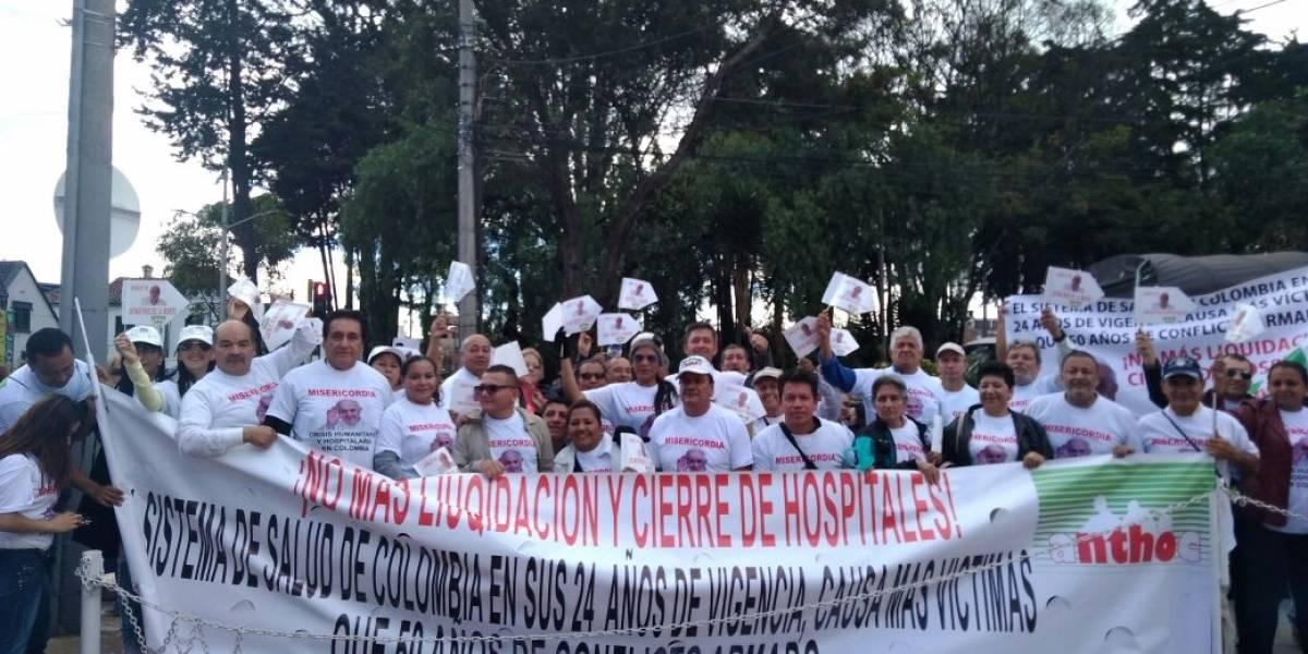 Trabajadores de la salud quieren exponerle la difícil situación del sector a su santidad