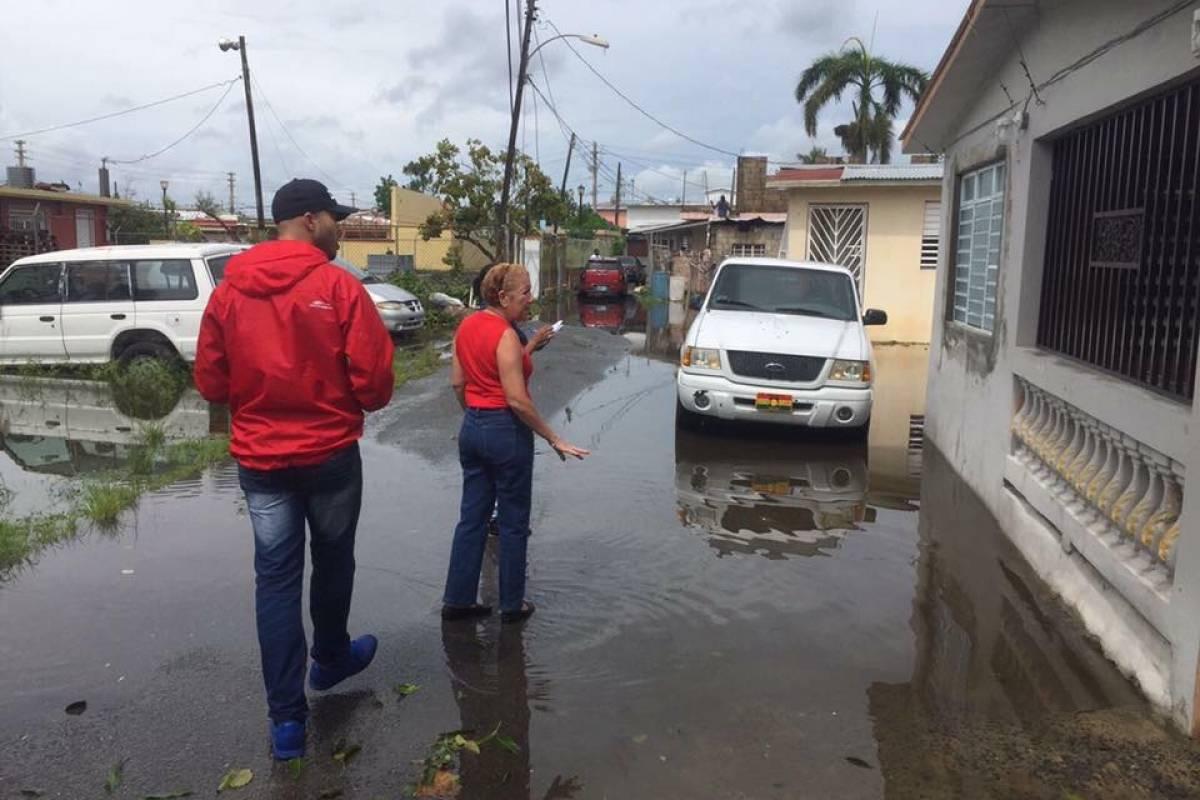 El secretario del DRD se unió a las labores de recuperación en el Municipio de Loíza. (suministrada)