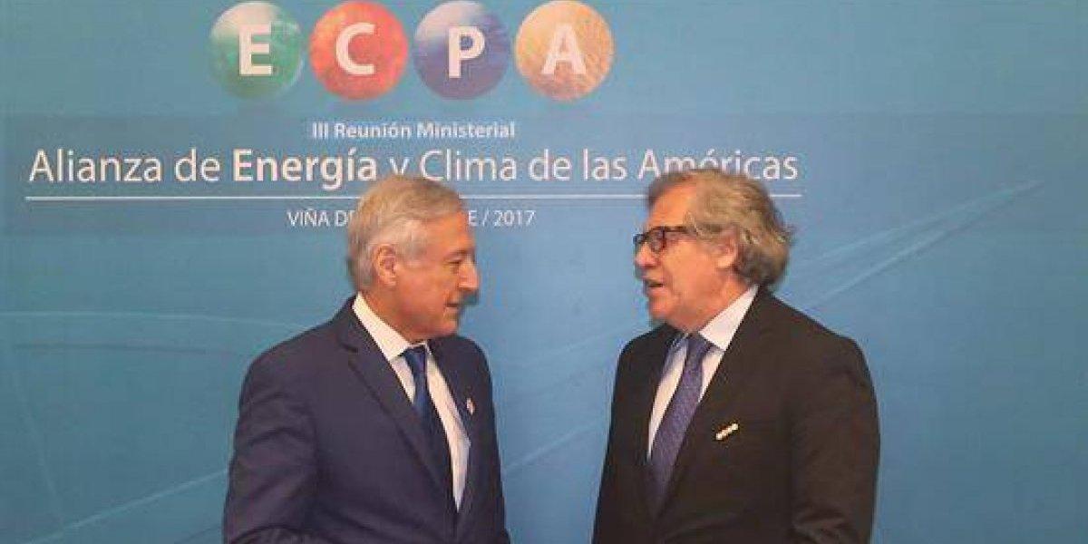 Chile y OEA insisten en salida negociada a crisis en Venezuela